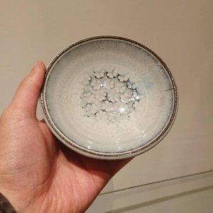 四寸印花皿