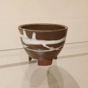 焼締植木鉢 (小)