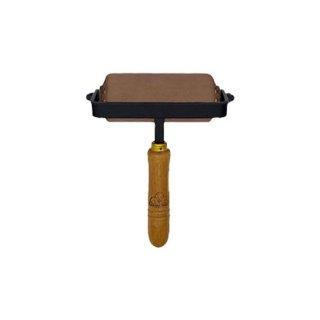 10cm (裏革)  インク詰め用革ローラー