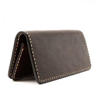 Italian Oil Leather Long Wallet