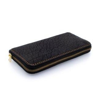 Round Zip Long Wallet