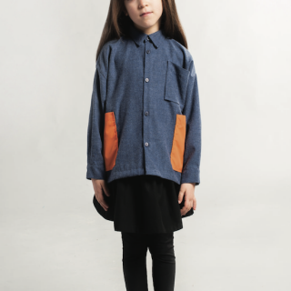 Rocket Pear SHIRT / BLUE