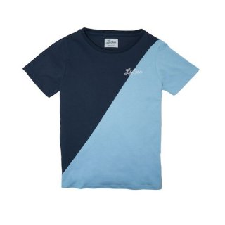 Lil'Boo SPLIT T-SHIRT / Blue
