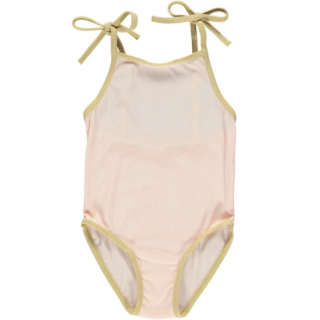 fin & vince ribbed swimsuit / sherbet
