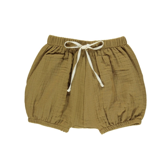 fin & vince bubble short / toffee