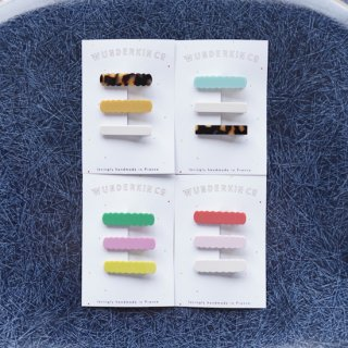 WUNDERKIN CO. Hair Clips / 3 Clips SET2