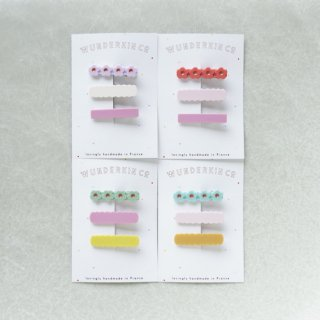 WUNDERKIN CO. Hair Clips / 3 Clips SET1