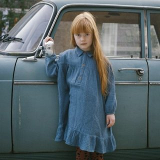 DAILY BRAT Lilyan dress / forest blue