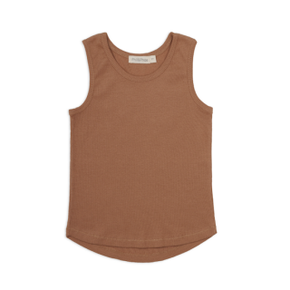 Phil&Phae Rib Tank Top / Terra