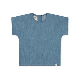 <img class='new_mark_img1' src='https://img.shop-pro.jp/img/new/icons22.gif' style='border:none;display:inline;margin:0px;padding:0px;width:auto;' />MATONA Arlo T-shirt / denimの商品画像