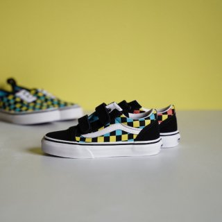 VANS OLD SKOOL V / BLK MLTI