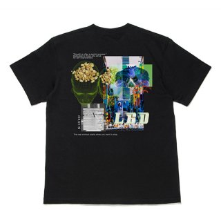 COTTON BIG COLLAGE PRINT S/S TEE