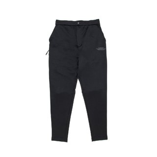 DOUBLE KNIT LETTERED ONE POINT LONG PANTS