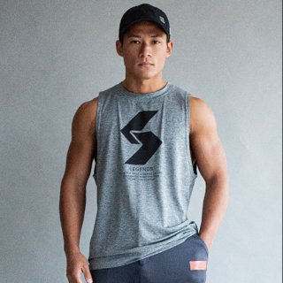 <img class='new_mark_img1' src='https://img.shop-pro.jp/img/new/icons5.gif' style='border:none;display:inline;margin:0px;padding:0px;width:auto;' />DRY BIG LOGO WIDE ARMHOLE TANK TOP