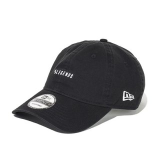 <img class='new_mark_img1' src='https://img.shop-pro.jp/img/new/icons5.gif' style='border:none;display:inline;margin:0px;padding:0px;width:auto;' />920CS LEGENDS NEW ERA CAP ONE POINT LOGO EMBROIDERY【BLACK】FREE