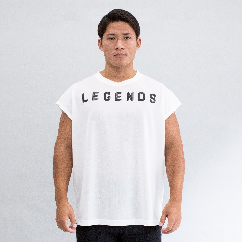 <img class='new_mark_img1' src='https://img.shop-pro.jp/img/new/icons5.gif' style='border:none;display:inline;margin:0px;padding:0px;width:auto;' />DRY IMPOSSIBLE LOGO PRINT CUT SLEEVE TEE