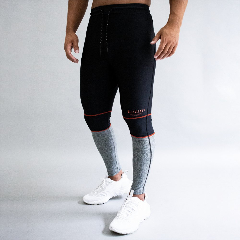 <img class='new_mark_img1' src='https://img.shop-pro.jp/img/new/icons5.gif' style='border:none;display:inline;margin:0px;padding:0px;width:auto;' />STRETCH FABRIC BLOCK SUMMER LEGGINGS PANTS