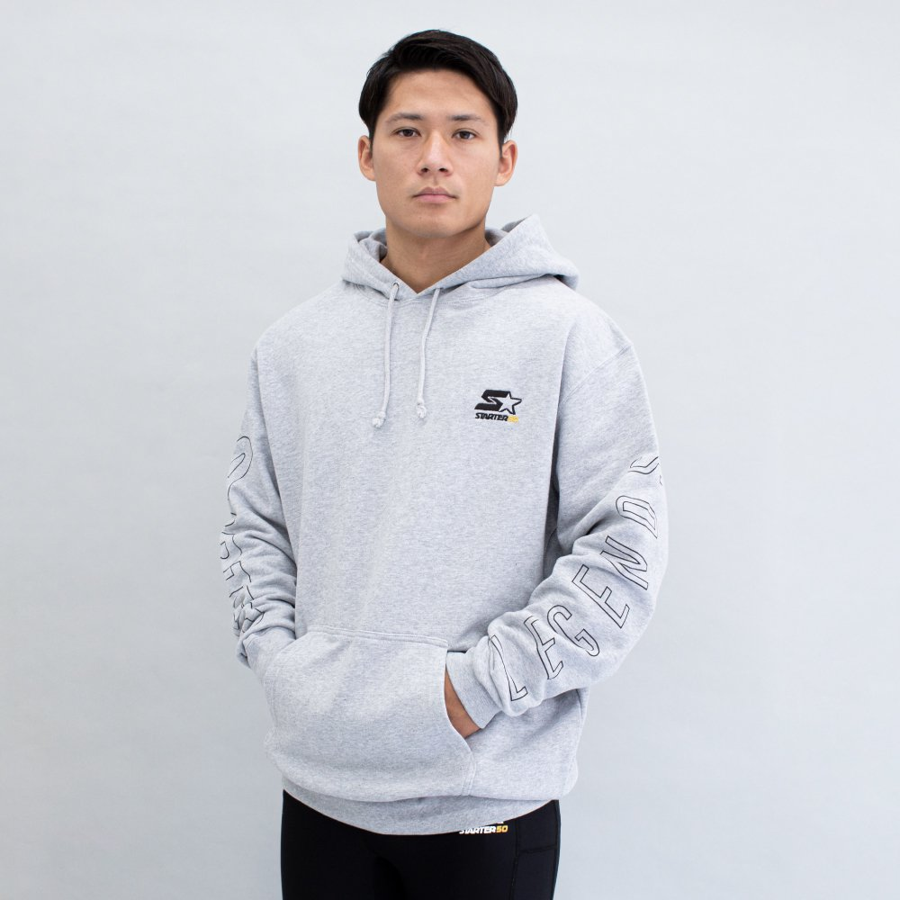 <img class='new_mark_img1' src='https://img.shop-pro.jp/img/new/icons5.gif' style='border:none;display:inline;margin:0px;padding:0px;width:auto;' />STARTER×LEGENDS COTTON BIG HOODIE