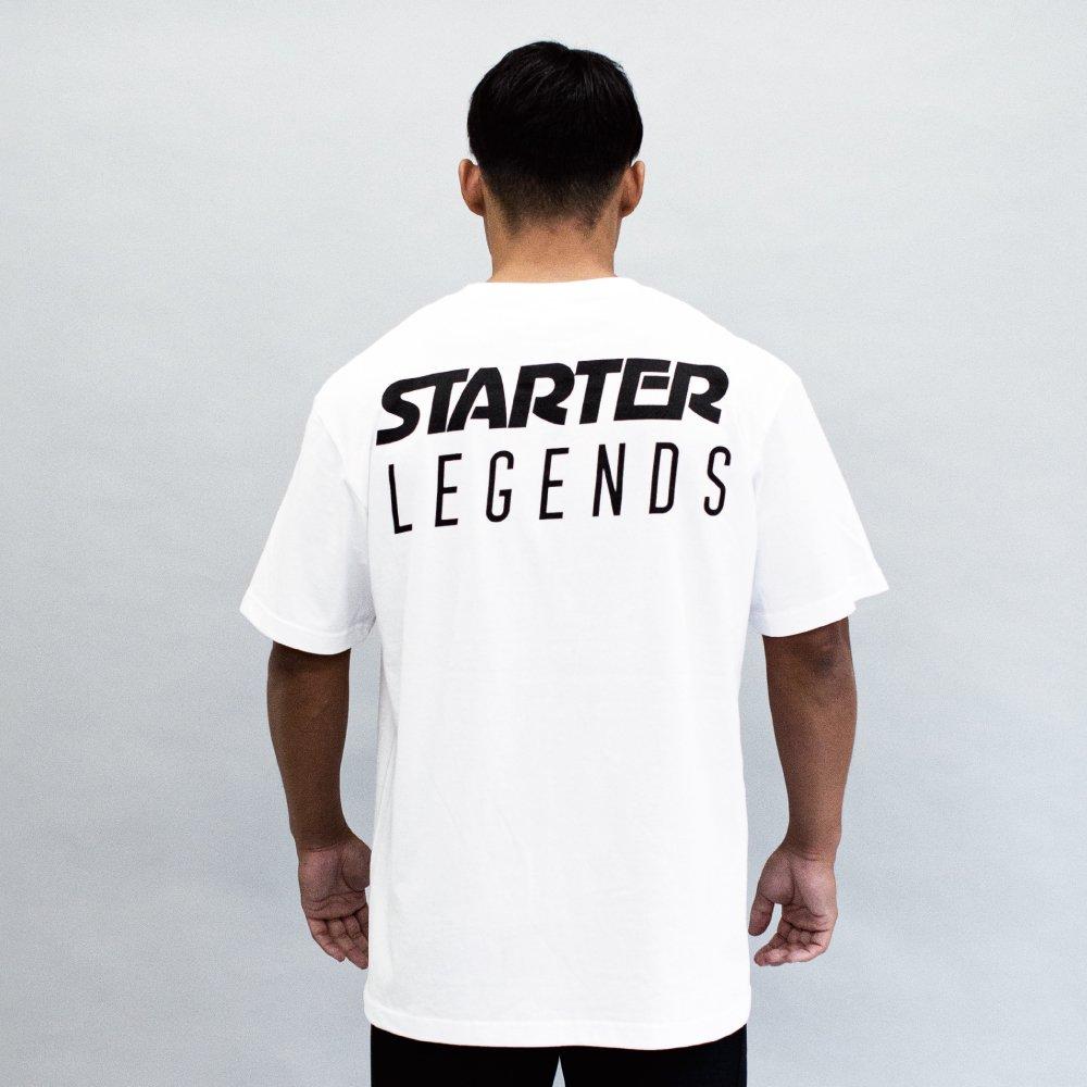 STARTER×LEGENDS COTTON BIG S/S TEE