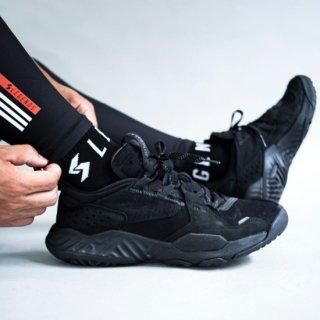 BIG LOGO ANKLE SOCKS【BLACK】FREE