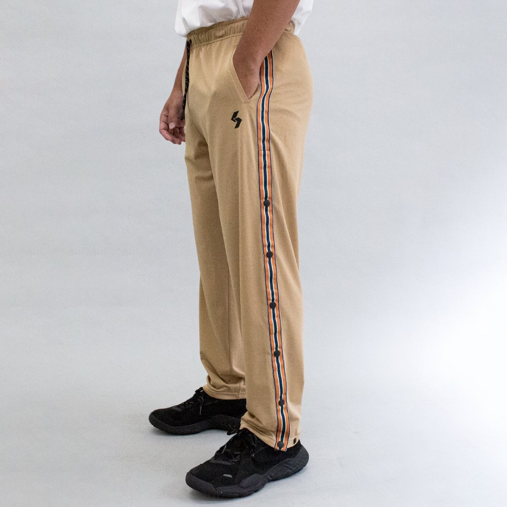 DRY SIDE BUTTON LONG PANTS