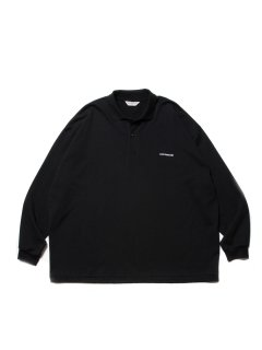 COOTIE  Supima Cotton Sweat L/S Polo  CTE-21S314