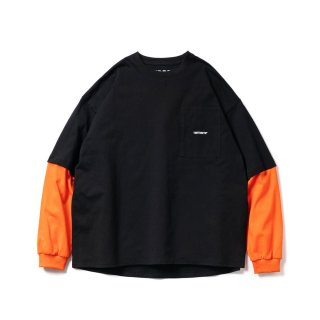 TIGHTBOOTH  LAYERED L/S T-SHIRT   FW21-T01