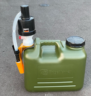 給油ポンプJIS規格対応灯油缶対応(65mmアダプタ付)