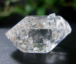 ナチュラルポイント(貴州産ガーデン水晶ダブルターミネーター304)両剣水晶
