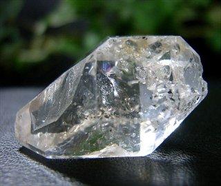 ナチュラルポイント(貴州産ガーデン水晶ダブルターミネーター305)両剣水晶