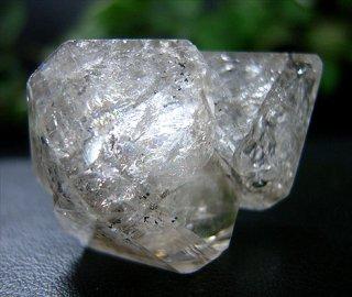 ナチュラルポイント(貴州産ガーデン水晶ダブルターミネーター306)両剣水晶