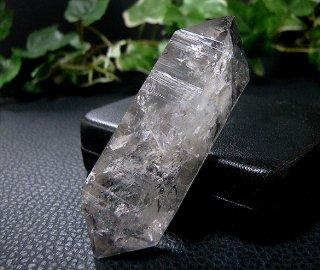 ナチュラルポイント(貴州産ガーデン水晶ダブルターミネーター315)両剣水晶・ファントム