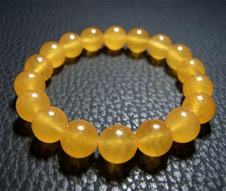 シンプルブレス(オレンジカルサイト)10mmAAA