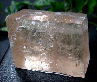 原石(オプティカルカルサイト15)ピンク