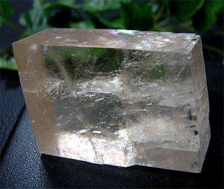 原石(オプティカルカルサイト12)ピンク