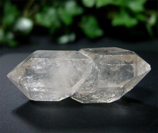 ナチュラルポイント(ダブルターミネーター510)両剣水晶