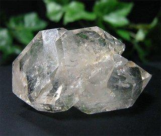 ナチュラルポイント(ダブルターミネーター533)両剣水晶・タビー