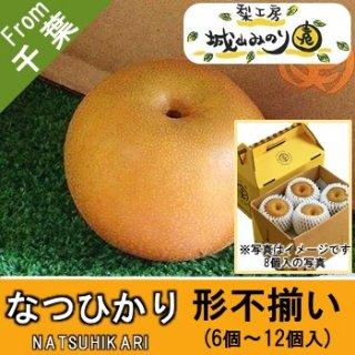 【N-F1 なつひかり 形不揃い \2000】 ご自宅用 城山みのり園 梨 形がきれいな梨