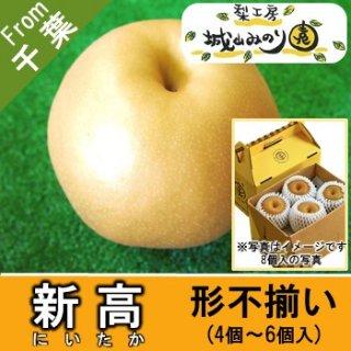 【N-J1 新高 形不揃い \2000】 ご自宅用 農家 比較的日持ちする梨