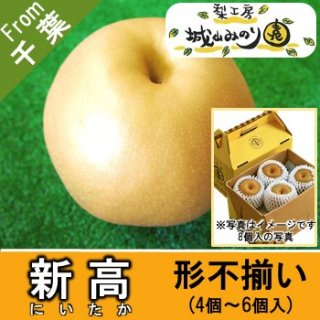 【N-J1 新高 家庭用手提げ箱 \2315】 ご自宅用 農家 比較的日持ちする梨