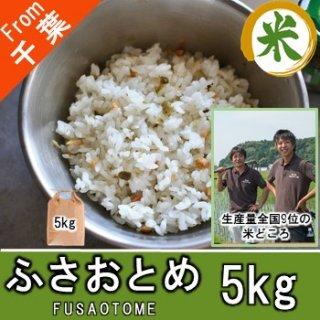 【O-A2 ふさおとめ 精米 5kg】アグリスリー 米 農家 千葉 産直