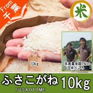 【O-B3 ふさこがね 精米 10kg】アグリスリー 米 農家 千葉 産直