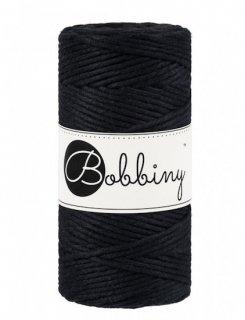 Bobbiny マクラメ シングル(3mm) ブラック