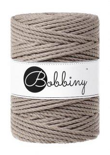 Bobbiny マクラメ3ply (5mm) コーヒー