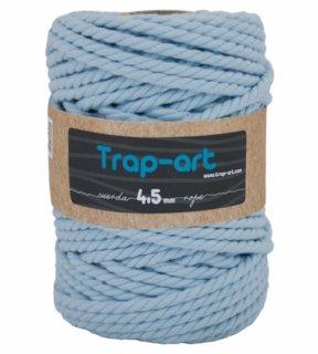 TRAP-ARTCotton Rope (3twl/6.5mm) ベビーブルー