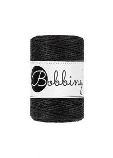 Bobbiny マクラメ シングル 2mm(1.5mm)ブラック