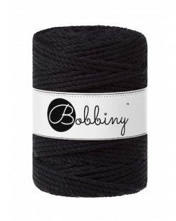 Bobbiny マクラメ3ply (5mm) ブラック