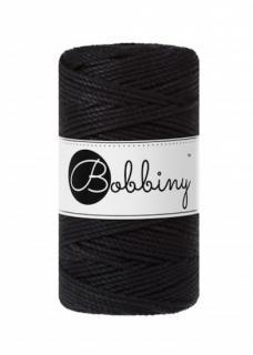 Bobbiny マクラメ3ply (3mm) ブラック