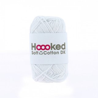 <img class='new_mark_img1' src='https://img.shop-pro.jp/img/new/icons14.gif' style='border:none;display:inline;margin:0px;padding:0px;width:auto;' />Hoooked SOFT COTTON DK モスクワ・ホワイト(MOSCOW WHITE)