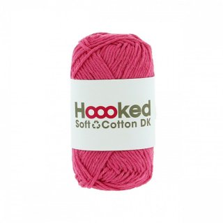 Hoooked SOFT COTTON DK バレンシア・ピンク(VALENCIA PINK)